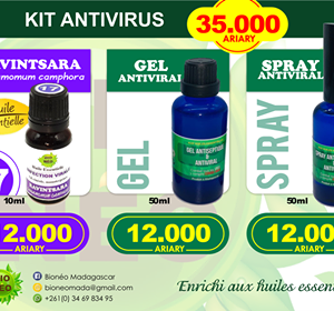 KIT ANTIVIRAL - ANTI CORONA VIRUS - ANTI COVID 19