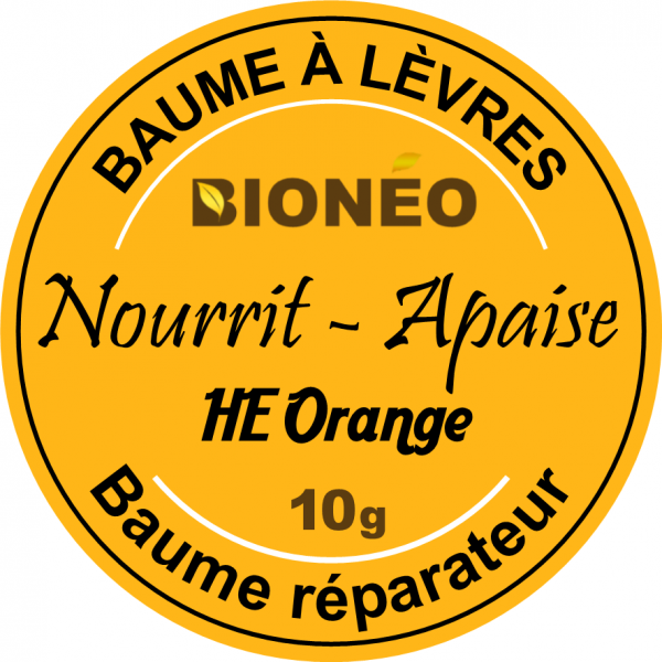BAUME-A-LÈVRES-ORANGE